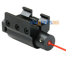 Tactical Red Laser Dot Sight with W/ Picatinny Mount for Gun Rifle Pistol 20mm
