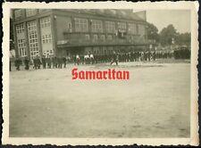 E5 WW2 ORIGINAL PHOTO OF GERMAN WEHRMACHT BANDSMEN