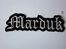 ROCK PUNK METAL MUSIC SEW/IRON ON PATCH:- MARDUK BLACK METAL SWEDEN