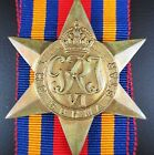 GENUINE WW2 AUSTRALIAN BRITISH BURMA STAR CAMPAIGN MEDAL ORDER FOR FIGHTING JAPS