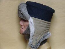 WWII German  Luftwaffe  Winter Fur Field Cap reproduction