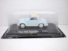 COCHE FIAT 500  TOPOLINO 1949  1:43 METAL CAR SEAT MINIATURA alfreedom