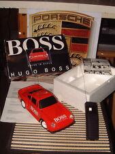 "RARE ""HUGO BOSS"" RADIO CONTROL RED PORSCHE 959 W/BOX! PERFECT & FULLY WORKING!"