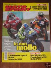 MOTOSPRINT 2005/6 XEROX DUCATI CAPIROSSI BIAGGI ROSSI @