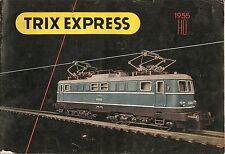 Catalogo 1955 Treni Elettrici Trix Express HO Binari in bakelite