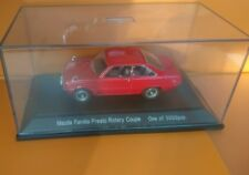 EBBRO 1/43 Mazda Red Familia R100 Rotary Coupe Diecast Limited Edition - no box