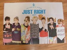 Got7 - Just Right (Type A) [Original Poster] *New* K-Pop