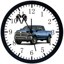 Dodge Ram Truck Black Frame Wall Clock Z15