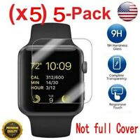 5x Tempered Glass Screen Protector For Apple Watch ( Series 1/2/3/4 ) 38mm/42mm