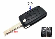 3Tasten Klappschlüssel für CITROEN C2 C3 C4 C5 BERLINGO CROSSER GRAND PICASSO