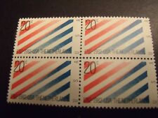 US Postage Stamp 1982  U.S.A. & The Netherlands  Scott 2003 4 - 20c
