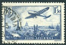 Timbres bleus aviation, espace