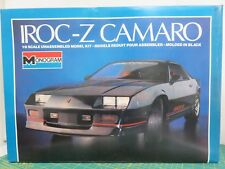 Monogram IROC-Z CAMARO 1/8 Scale Plastic Model Kit 85-2610 New