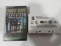 Ernesto Bitetti Joaquín Rodrigo Konzert de Aranjuez - Tape Kassette 1988