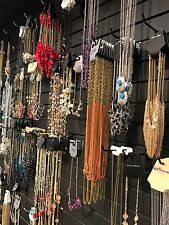 New Lot Of 70 Mix Fashion Jewelry Necklaces, Earrings, Bracelets, Usa Seller