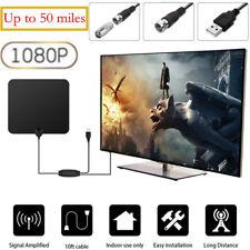 Indoor Amplified TV Antenne Digital HDTV Antenne Signal Booster bis 50-80Meilen