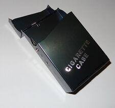 Alu Metall Zigarettenetui Zigarettenbox Etui Box f. 20 Zigaretten grau Neu