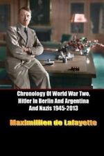 Chronology of World War Two, Hitler in Berlin and Argentina and Nazis 1945-2013