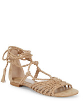 25b305d12ec2  288 NWOT Joie SIZE 6.5 US WOMEN S Falk Leather Sandals Color Powder 4179AN1