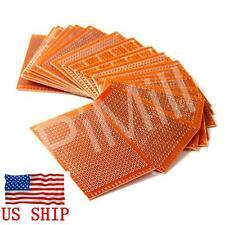 10pcs DIY Prototype Paper PCB Universal Matrix Circuit Board 5x7cm US Stock