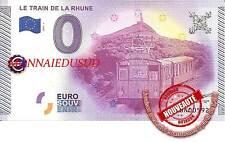 Billet Touristique 0 Euro 2015 - Le Train de la Rhune