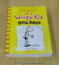 Dog Days by Jeff Kinney ~ Diary of a Wimpy Kid: Book 4 ~ Trade Paperback