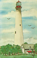 Postcard Cape May Lighthouse New Jersey