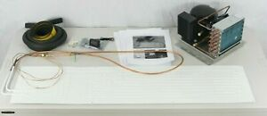 """12/24v Conversion icebox to fridge with 39x10"""" plate *No gas No Wiring* R134A"""