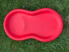 Keekaroo Peanut Diaper Changer Solid Red Preowned