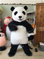 Top Quality Chinese Panda Bear Mascot Costume Dress Adults Birthday Party Outfit