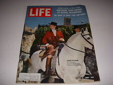 LIFE Magazine, May 6, 1966, JACKIE KENNEDY IN SPAIN, INTEGRATION, SAFER CARS!
