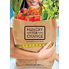 HUNGRY FOR CHANGE - DVD, R-ALL, NEW, FREE SHIPPING WITHIN AUSTRALIA