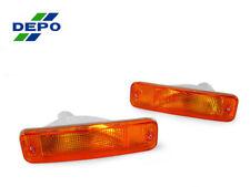 DEPO JDM Amber Bumper Signal Lights Lamps For 88-89 Honda CRX/CR-X EF 2D Si