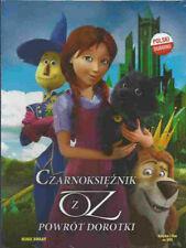 CZARNOKSIEZNIK Z OZ POWROT DOROTKI, Polish DVD, bajka dla dzieci po polsku, NEW