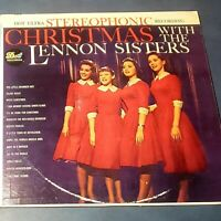 Christmas With The Lennon Sisters: Dot Records 1960 Vinyl LP (Pop)