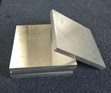 Aluminiumplatte, ca. 25 x 25 cm, 2 cm Dicke, Alu Platte Aluminium