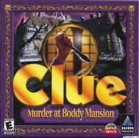 CLUE: MURDER AT BODDY MANSION +1Clk Windows 10 8 7 Vista XP Install