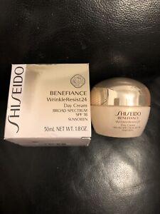 SEALED Shiseido Benefiance WrinkleResist24 Day SPF 18 Cream 50 ML 1.8 OZ ***