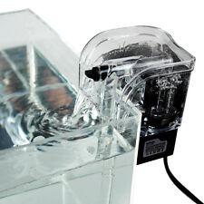 3.5W 220V 250L / H Biological Aquarium Fish Tank Water Fall Hang On Slim Filter