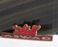 Rare Vintage Pin Metal Pinback 1980s 80s Retro New Wave Aswad Band Music