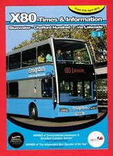 Timetable Leaflet ~ Ensign Bus - X80: Bluewater to Chafford Hundred - 2013