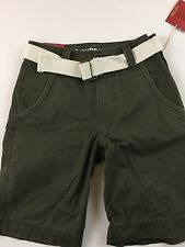 NWT Mossimo Supply Co Boys Shorts With Belt SZ 26
