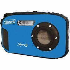 Coleman 20.0 MP/HD Waterproof Digital Camera Blue