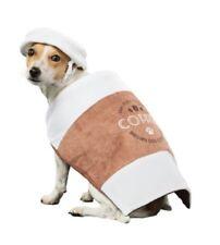 Halloween Dog Costume Coffee Cup Latte Takeaway Fancy Dress Outfit & Hat