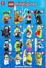 LEGO 1 Minifigura Esquiadores Figura de coleccionista Serie 2 no usado Figur12