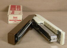 Boston Stapler Model 55 Product Of Taiwan Vintage Withstaples Brown And Tan