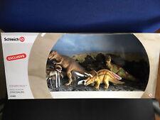 Schleich® 41400 - Scenery Pack (4 Dinosaurier) - Exclusive in OVP aus 2015