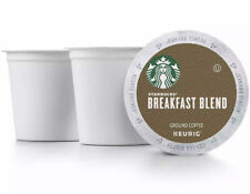 STARBUCKS Breakfast Blend Coffee K-Cups 200 ct Loose Pods Shipped Best By 9/2020
