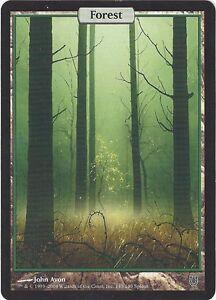TCG MtG 188 Magic the Gathering Unhinged Full Art Land Forest