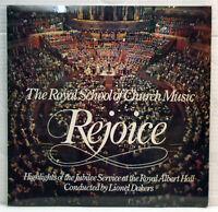 Royal School of Church Music - Rejoice - 1977 vinyl LP Abbey LPB 781 Near Mint